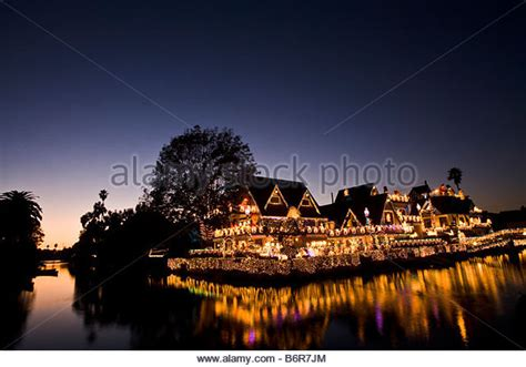 venice canals christmas lights venice christmas stock photos venice christmas stock