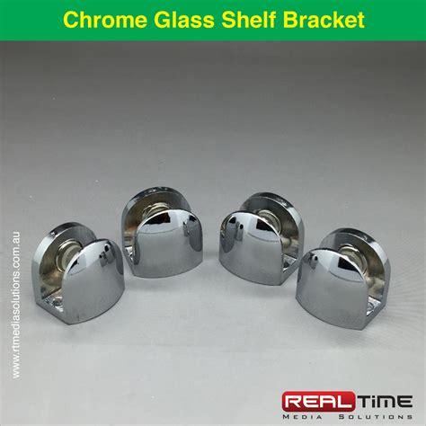 chrome and glass bookcase glass shelf brackets chrome adjustable woodglass