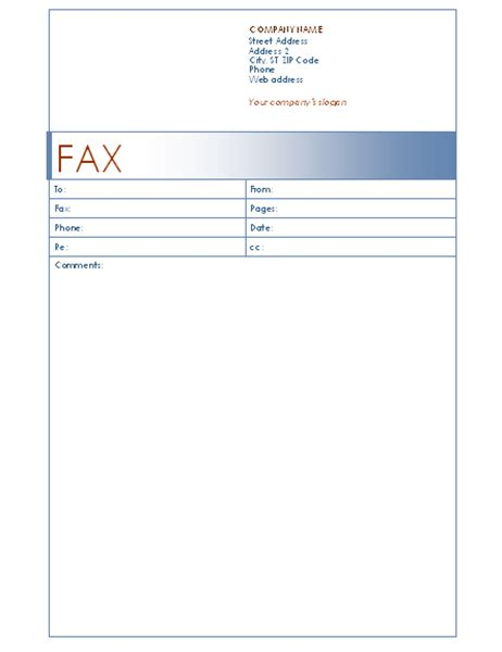 Fax Covers Office Com Fax Form Template