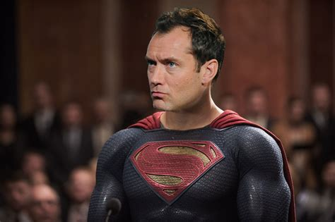 film superman lawas jude law turned down the part of superman but he did try