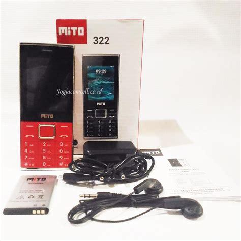 Mito 322 Big Speaker 2 4 mito 322 hp dual sim dengan speaker besar dan kamera