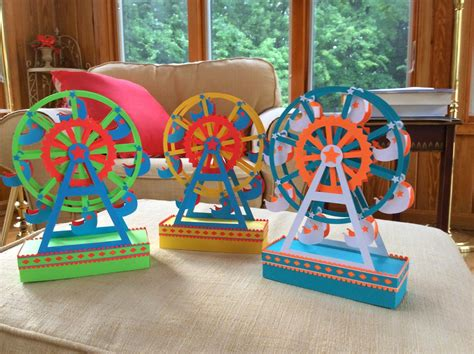 How To Make A Paper Ferris Wheel - papercrafts and other things a paper ferris wheel