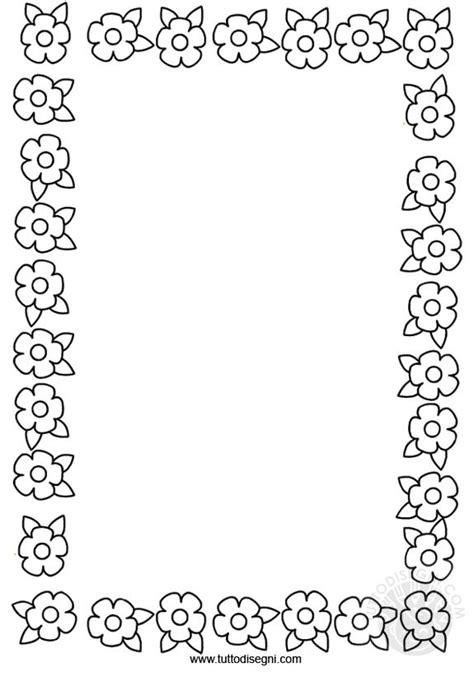 cornici da colorare pin cornici da colorare con fiori disegni imagixs graffiti