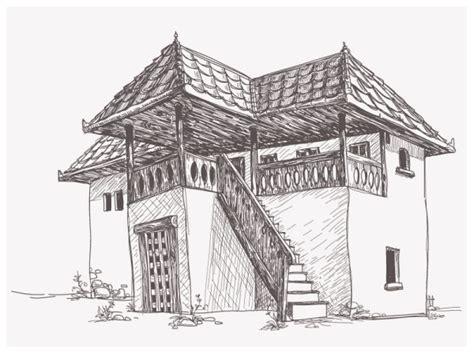 Cottage Building Plans 简单建筑速写图片照片