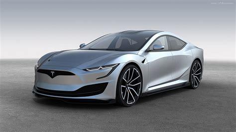 Auto Emre by Tesla Model S Bilder Der Zweiten Generation Computer Bild
