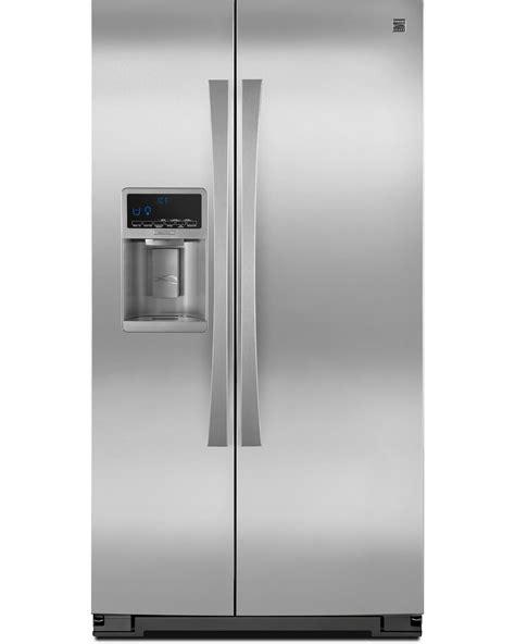 kenmore elite refrigerator fan kenmore elite 23 cu ft counter depth side by side