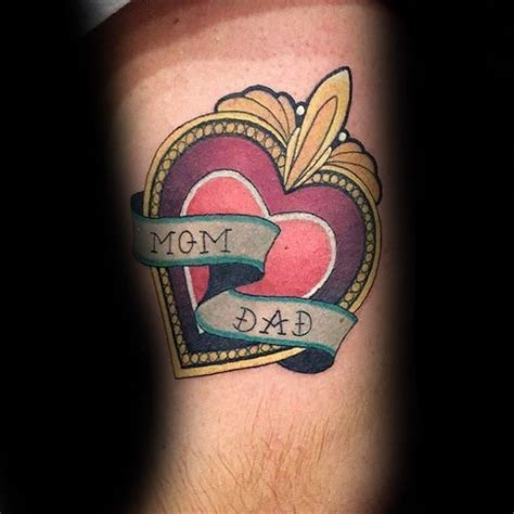 new school tattoo lettering new school style colored tattoo of big heart with