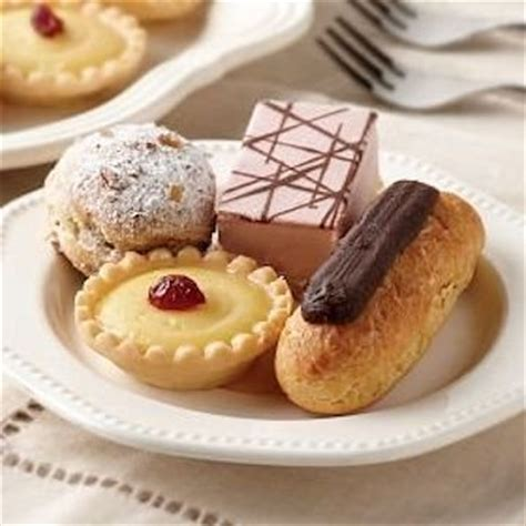 french pastry assortment
