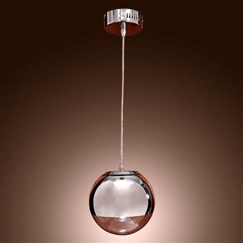 Aliexpress Com Buy Modern Pendant Lights Mirror Glass Glass Sphere Light Fixture