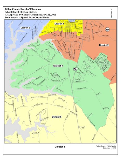 maryland election map election districts map talbot county md
