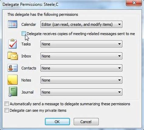 How To Be A Delegate configure delegate access microsoft outlook 2010 techyv
