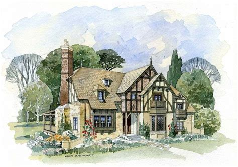 english cottage home plans new south classics weobley cottage