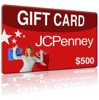 Jcp Gift Cards - 500 jcpenney gift card giveaway