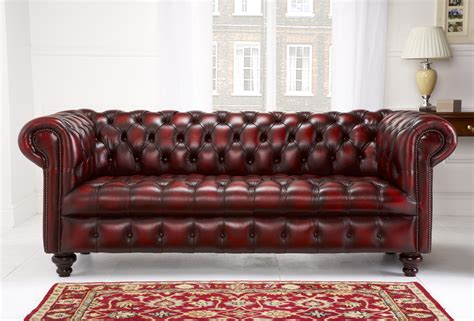 red leather tufted sofa leather sofas chesterfield style memsaheb net