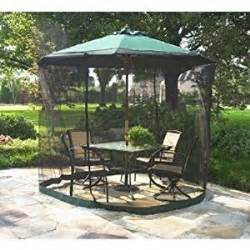 Patio Umbrella With Netting Patio Umbrella Mosquito Net 9ft Umbrella Mosquito Net Tent Patio Lawn Garden