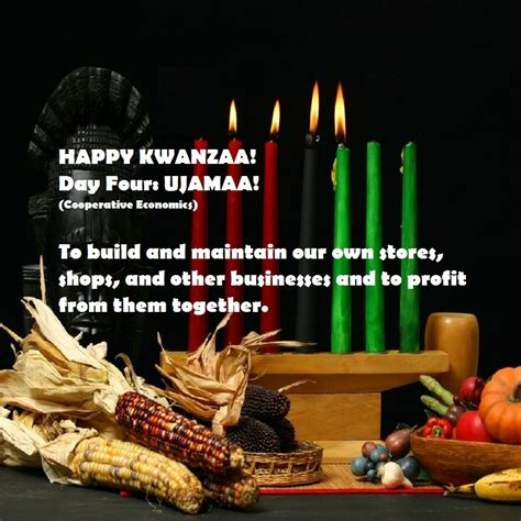 happy fourth day of kwanzaa afrocentriqueaz