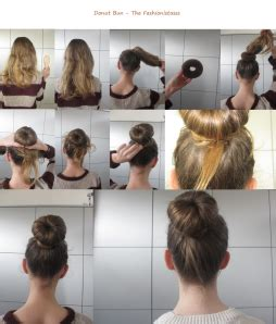 hair donuts instructions donut bun tutorial the fashionistassss