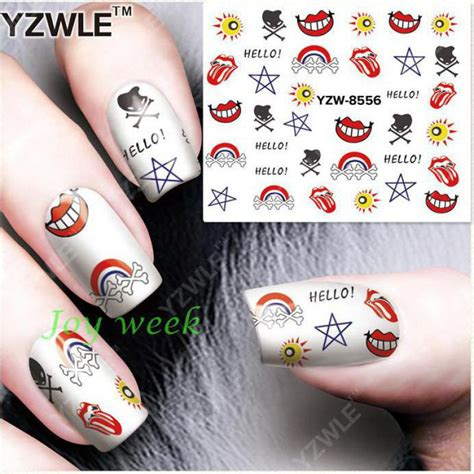 Nail Sticker Water Decal Stiker Kuku Nail 32 buy grosir air stiker komik from china air stiker