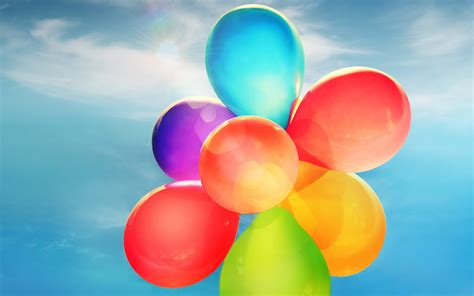 colorful balloons wallpaper colorful balloons wallpapers hd wallpapers id 13978
