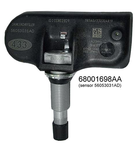 Tpm System Jeep Jeep Grand Wk Tire Pressure Monitor System