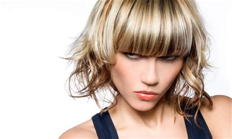 haircut groupon uk half head highlights plus cut strandz hair salon groupon