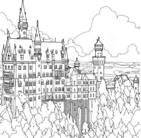 neuschwanstein castle coloring page quot game of thrones quot adult coloring book fad pictures