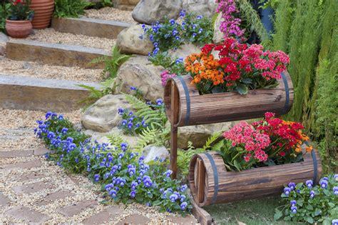 smart ideas  decorating garden  drought areas