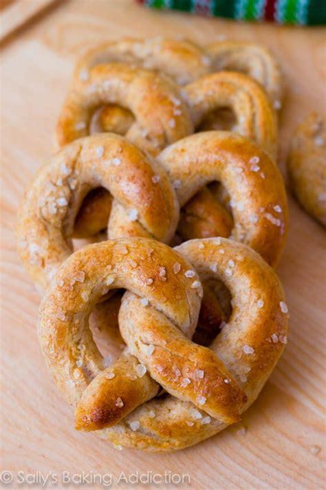 Handmade Pretzels - soft pretzels recipe dishmaps