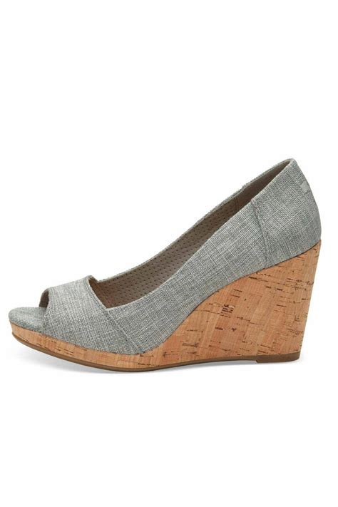 Peep Toe Wedges toms stella peep toe wedges from statesboro by sole
