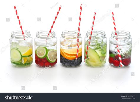 Detox Drinks White Background by Detox Water On White Background Cleanse And Burn