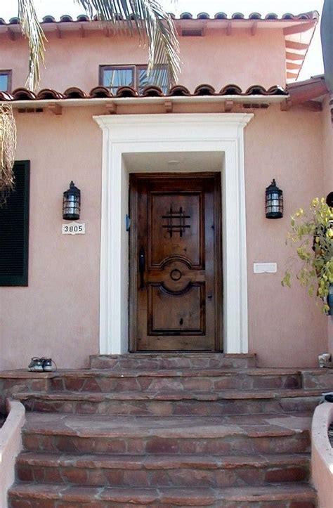 spainsh style front doors front door exterior  spanish