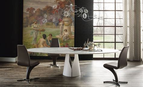 cattelan italia round dining table giano by cattelan italia design