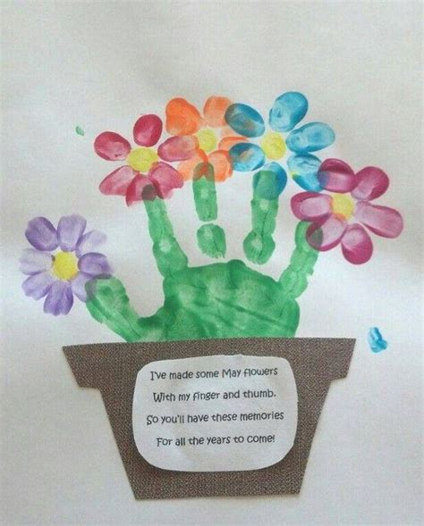 kid craft gifts idea for a springtime project with the or a gift
