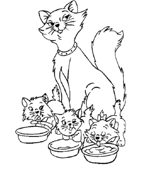 kitty cat coloring page kitty cat coloring pages coloring home