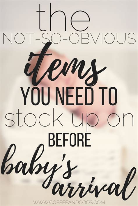essential household items to stock up before baby arrives essential items to stock up on before baby s arrival