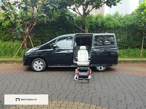 Kursi Roda Orang Tua orang tua susah masuk naik mobil solusinya motionaid