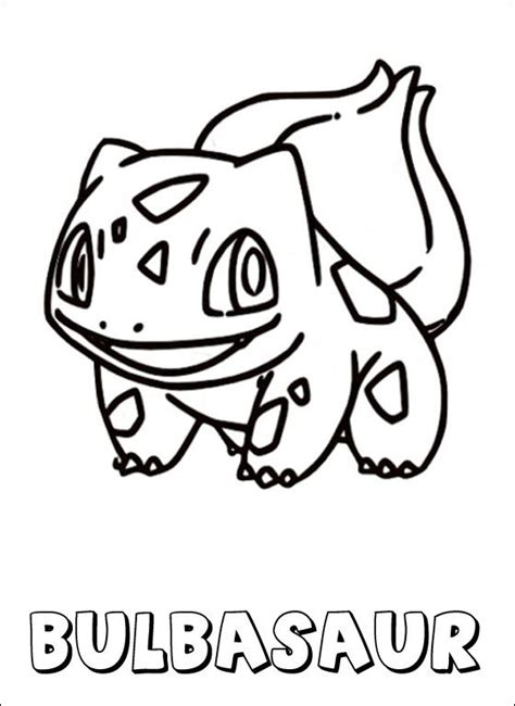 pokemon coloring pages of bulbasaur pokemon coloring page bulbasaur coloring pages art