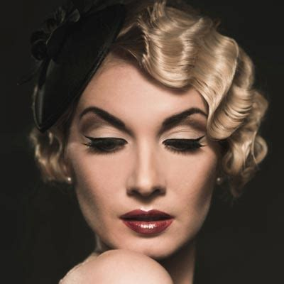 how to do 1920 hairstyle finger waves 3 glamorous vintage updos