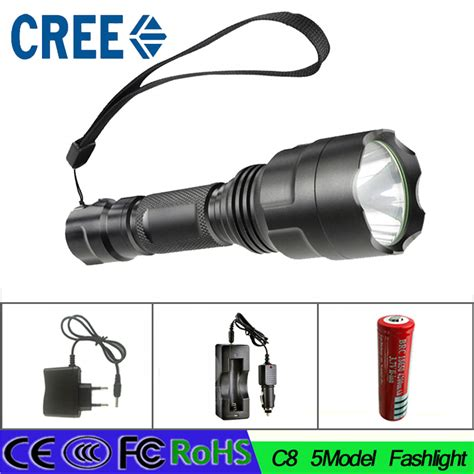 Senter Led Cree Lumens Xml2 3800 Lumens aliexpress buy z40 new high power 3800 lumen 5 mode cree xm l t6 led c8 flashlight torch