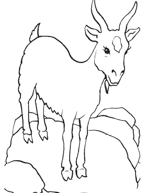 coloring pages goats goat coloring pages download and print goat coloring pages