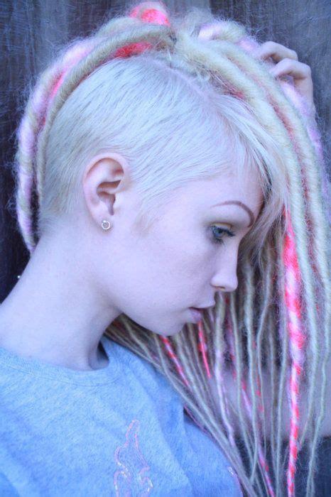 dreadlock extensions on short hair pin by luzymar ju 225 rez on mohawk pinterest