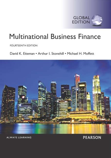 Corporate Finance Foundations 14th Edition multinational business finance by eiteman david k 9781292097879 brownsbfs