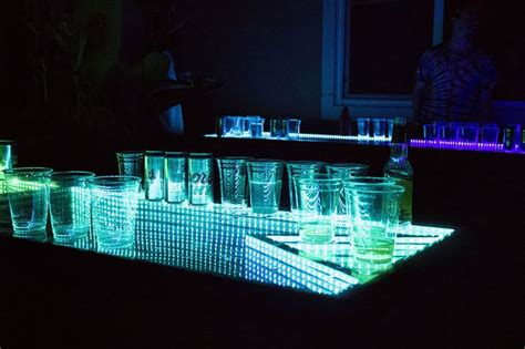 17 best ideas about led pong table on