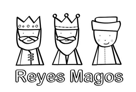 imagenes de reyes magos faciles reyes magos para colorear manualidades