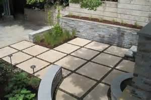 back yard concrete patio ideas square concrete tile