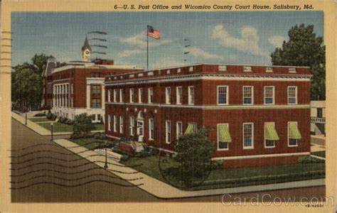 Wicomico County Court Search U S Post Office And Wicomico County Court House Salisbury Md