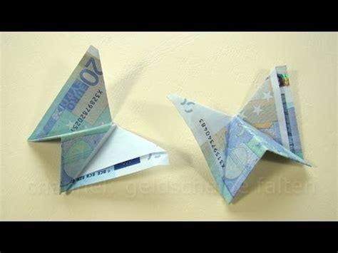 schmetterling falten geld falten schmetterling einfaches geldgeschenk
