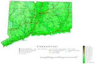 connecticut contour map