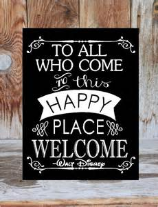 Welcome Home Decoration Welcome Sign To All Who Come To This Happy Place Welcome