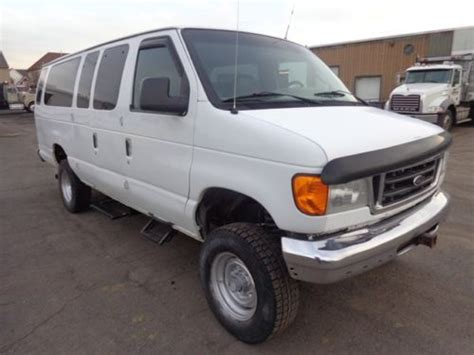 where to buy car manuals 2005 ford e250 lane departure warning find used 2005 ford e350 xlt 4x4 extended passenger van 4x4 no reserve in philadelphia